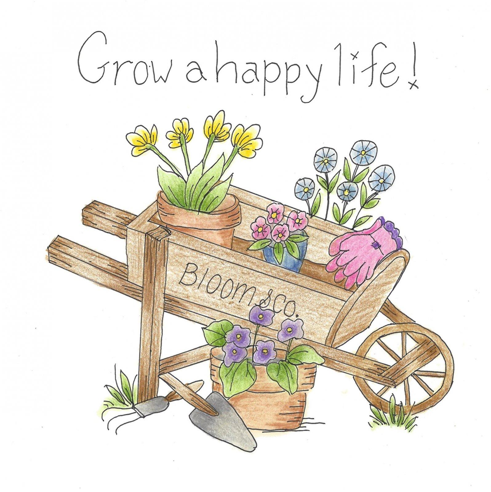 CL012 Grow A Happy Life!