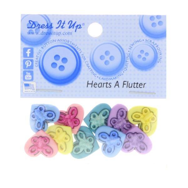 B4886 Hearts A Flutter