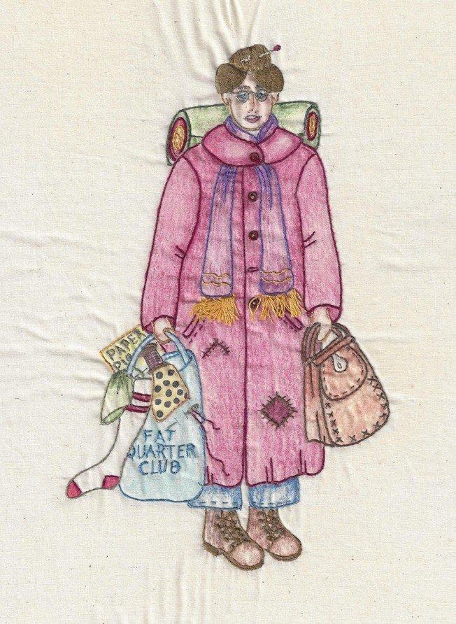 CDH324 Bag Lady Hildagard