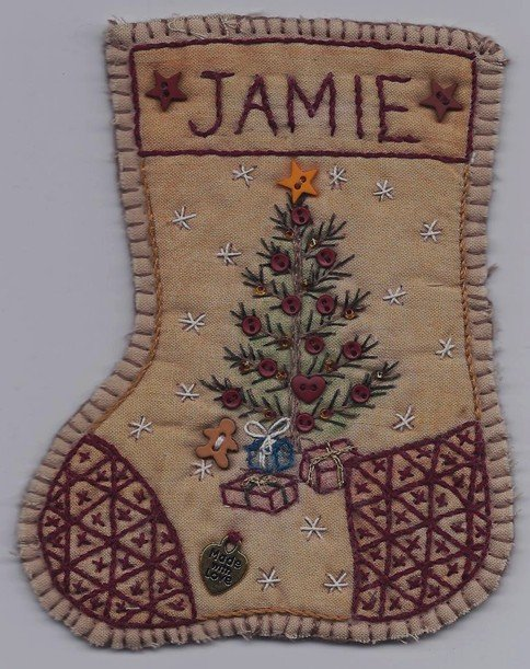JS12 Jingle Sock Christmas Tree