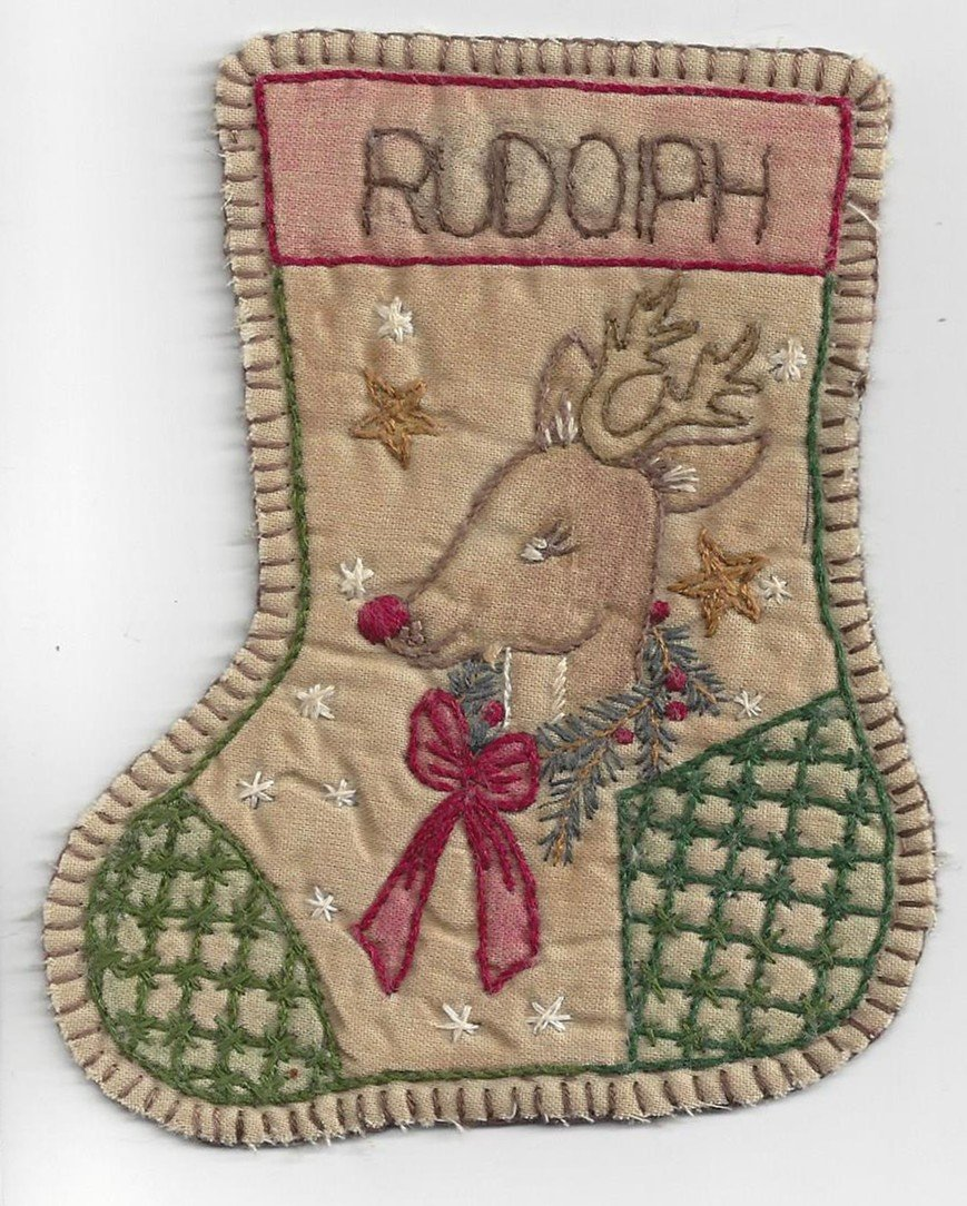 JS15 Jingle Socks Rudolph