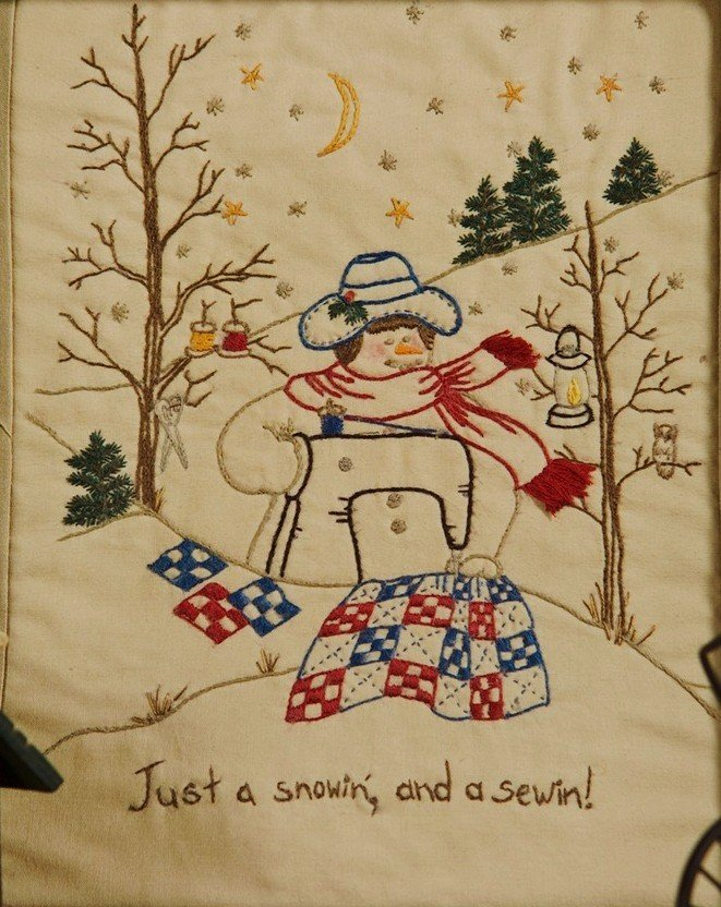 311 Just A Sewing & A Snowing