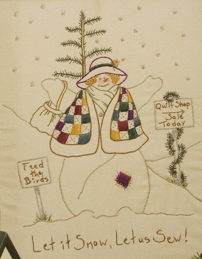309 Let it Snow, Let Us Sew