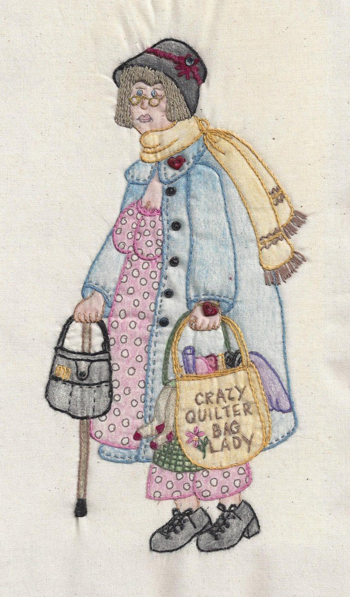 CDH328 Bag Lady Mathilda