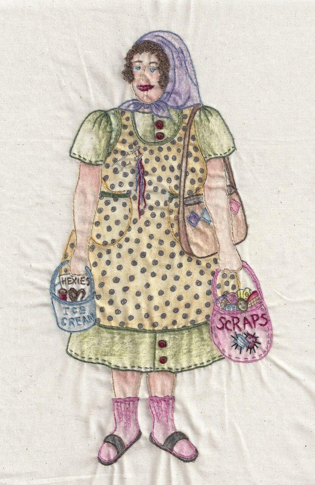 CDH326 Bag Lady Mildred