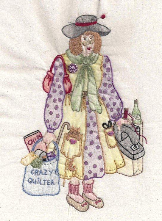 CDH322 Bag Lady Millicent