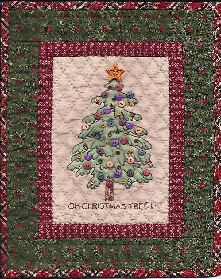 CDH729P Mini Homespun Christmas Pattern