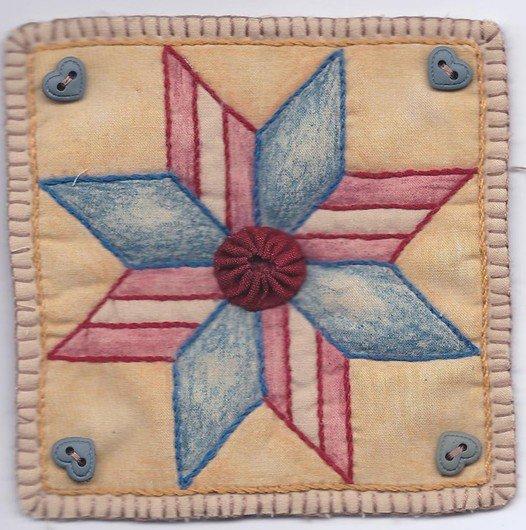 01 Vintage Patriotic Star