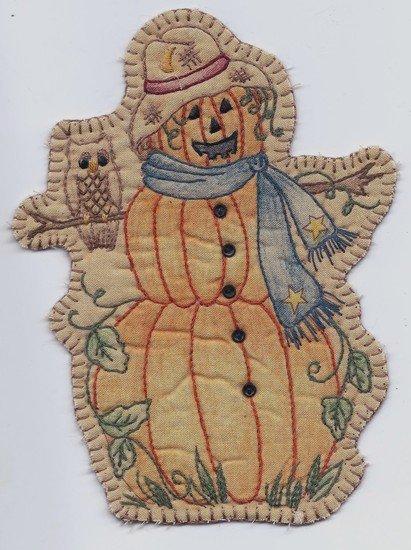 15 Vintage Autumn Pumpkin Lady