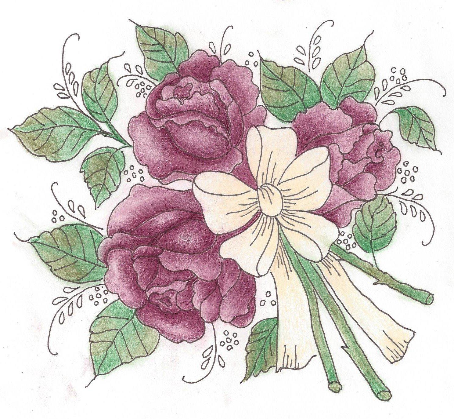 708B/N Roses For Mom