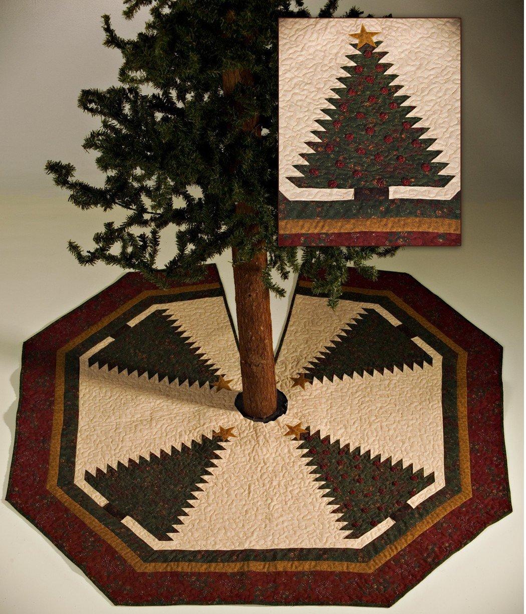 128 Tall Pines Tree Skirt