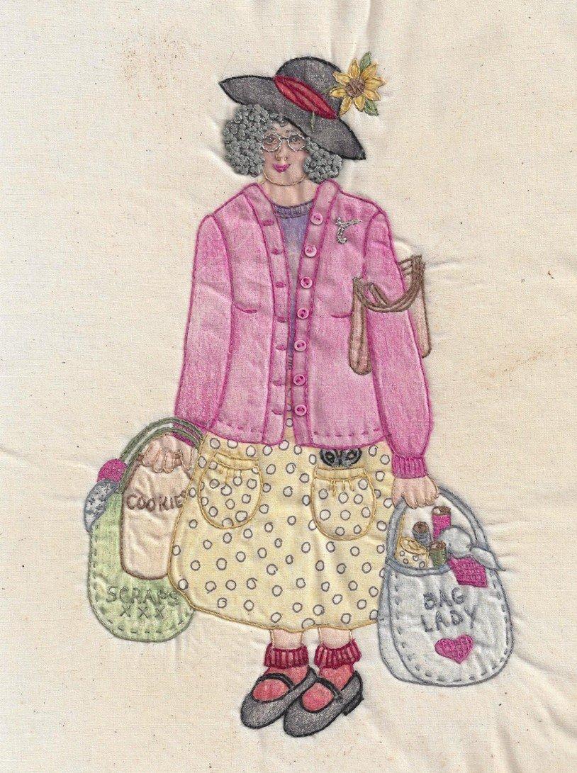 CDH330 Bag Lady Thelma