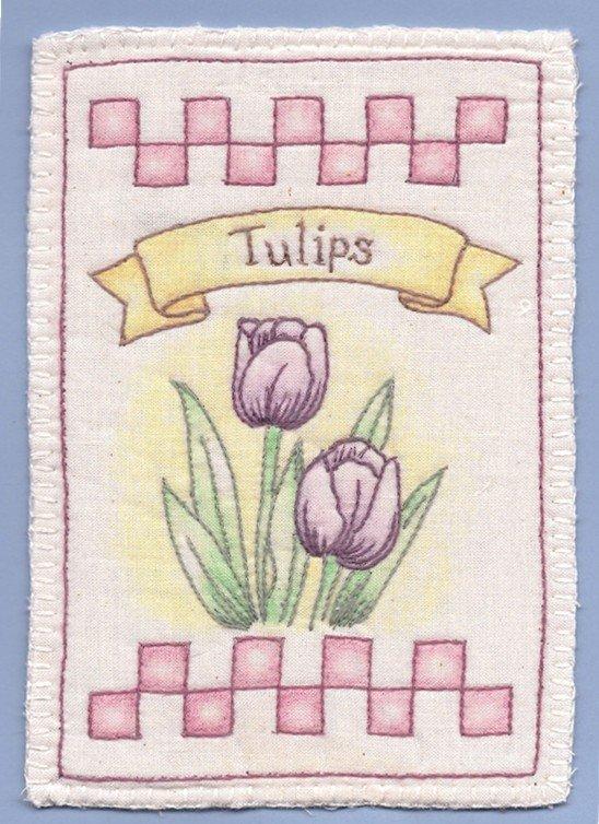 12 Tulips Heirloom Ornament