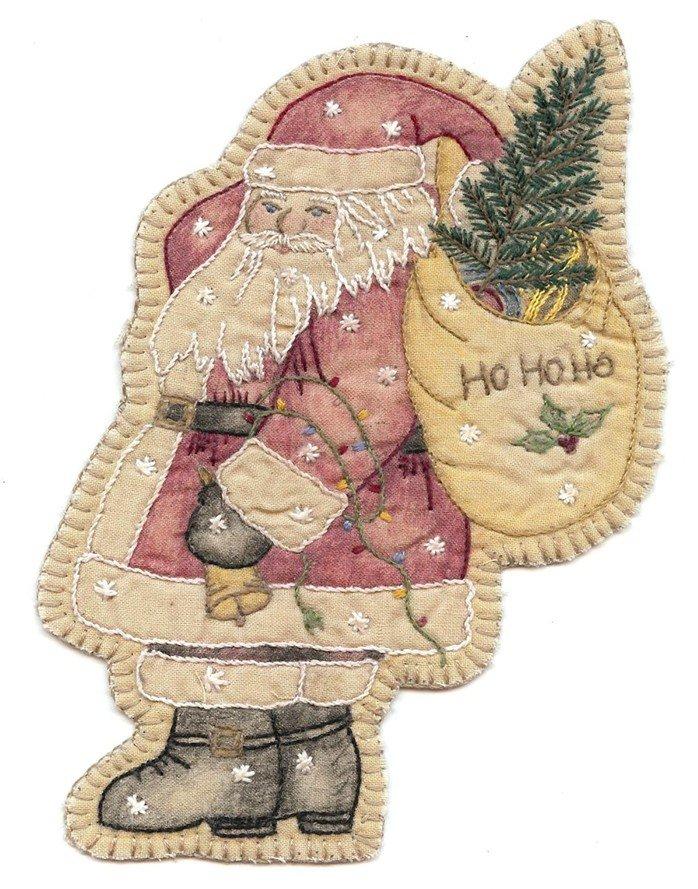 17 Vintage Christmas Ornament Santa