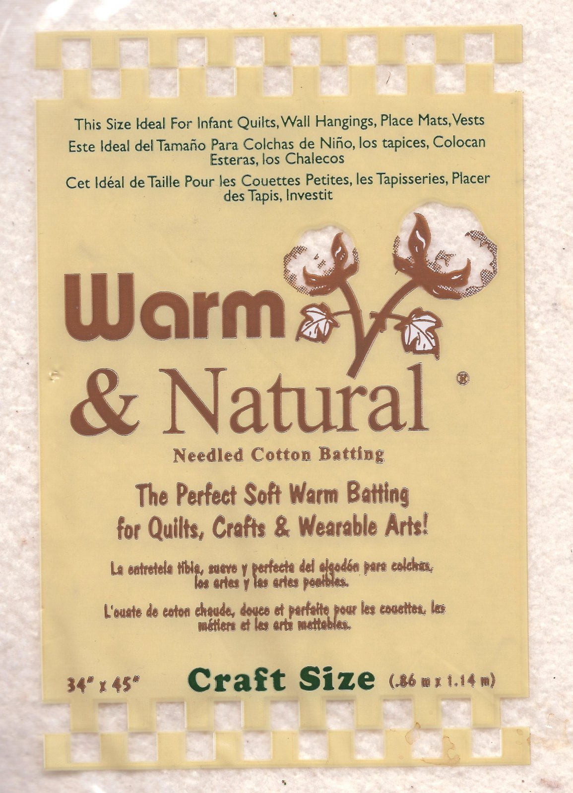 CDH-WN Warm N Natural Batting