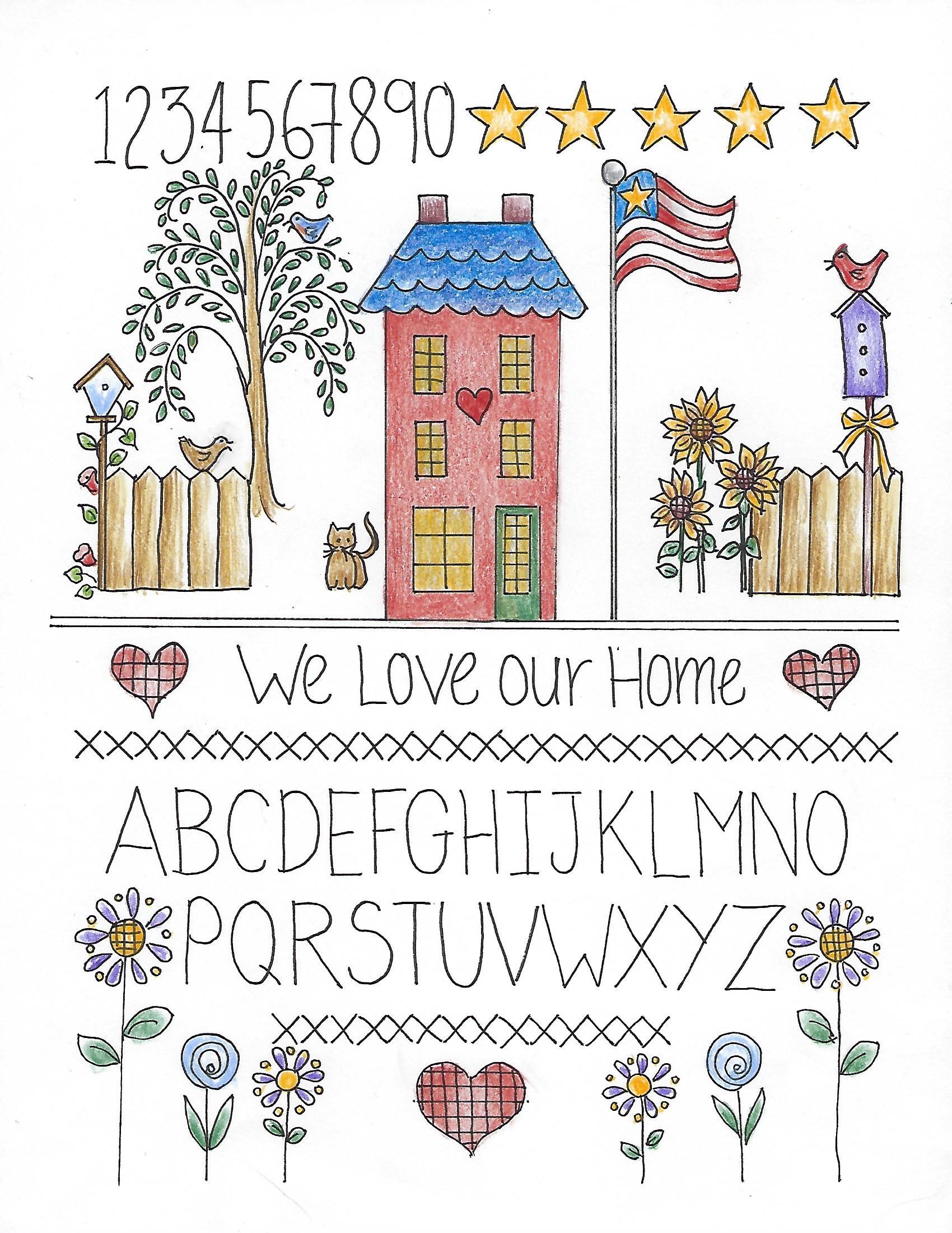 CDH801 We Love Our Home