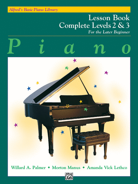 Alfred's Lesson Book Complete levels 2 & 3