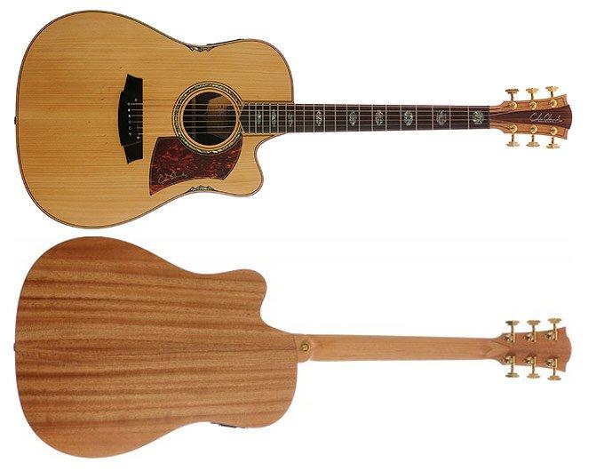Cole Clark Fat Lady 3 Bunya Top Acoustic Electric Guitar