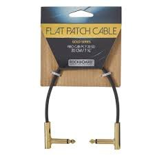 Rockboard Gold Flat Patch Cable 11.81