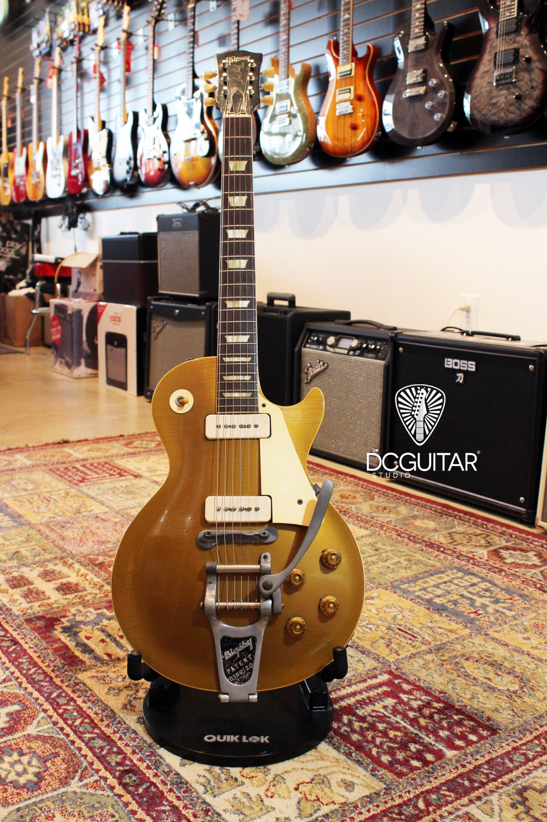 1956 Gibson Les Paul Goldtop with Bigsby Tailpiece