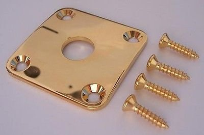 AllParts AP 0633-002 Gold Jackplate for Les Paul