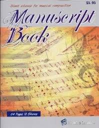 12-Stave Manuscript Book