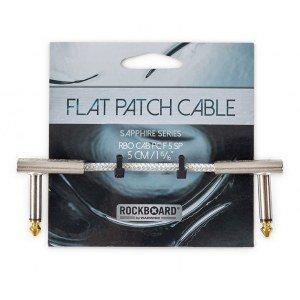 RockBoard Flat Patch Cabel, Sapphire Series, 5 cm / 1.97