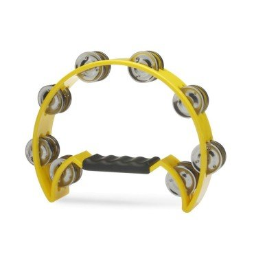 Stagg TAB-2-YW Tambourine Yellow