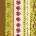 Spice Garden Cream Stripe