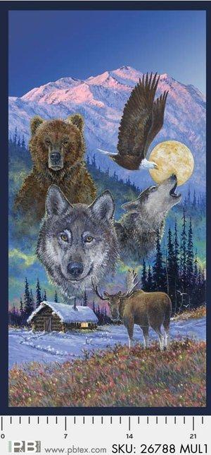 Collections of Alaska Full Moon Panel