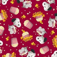 QT Popcorn & Peanuts Snoopy & Woodstock Popcorn Toss