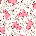 Windham Storybook Ranch White/Pink Pig