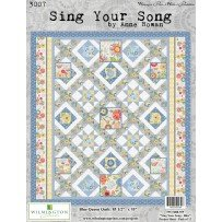Sing Your Song {Blue} Quilt Kit