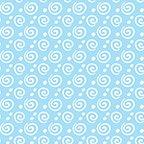 Benartex Flannel Breezy Baby Dreamy Swirl Sky Blue