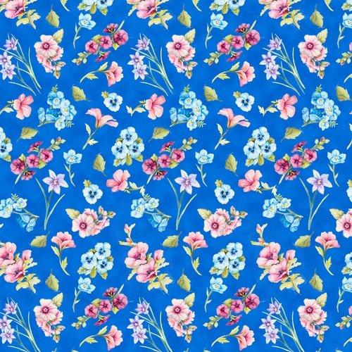 Blank Papillon Parade Small Floral Blue