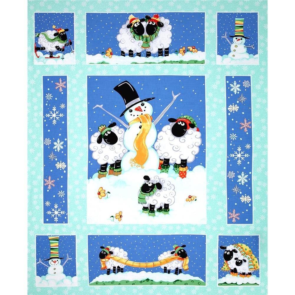 Susybee Snowman & Sheep Panel Kit