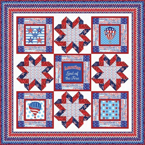 America: Home of the Brave Quilt Kit