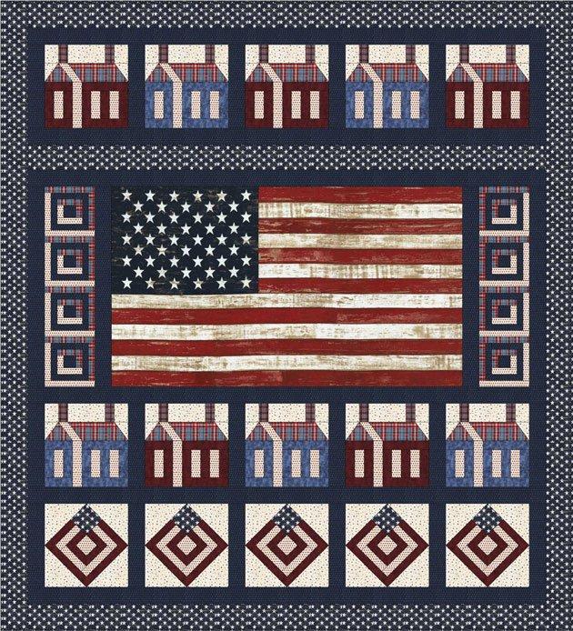 Americana Quilt Kit