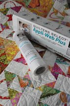 Quilters Select Appli Web Plus 1/2 x 25 yards