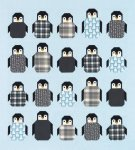 Robert Kaufman Penguine Party Quilt Kit