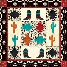 Arrowhead In Desert Quilt Kit