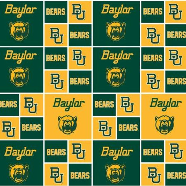 Sykel Baylor Bears Gold With Green