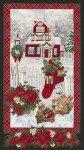 Christmas Morning Snow Panel