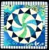 Artsi2 Quilt Boards Daisy Wheel 1 6x6