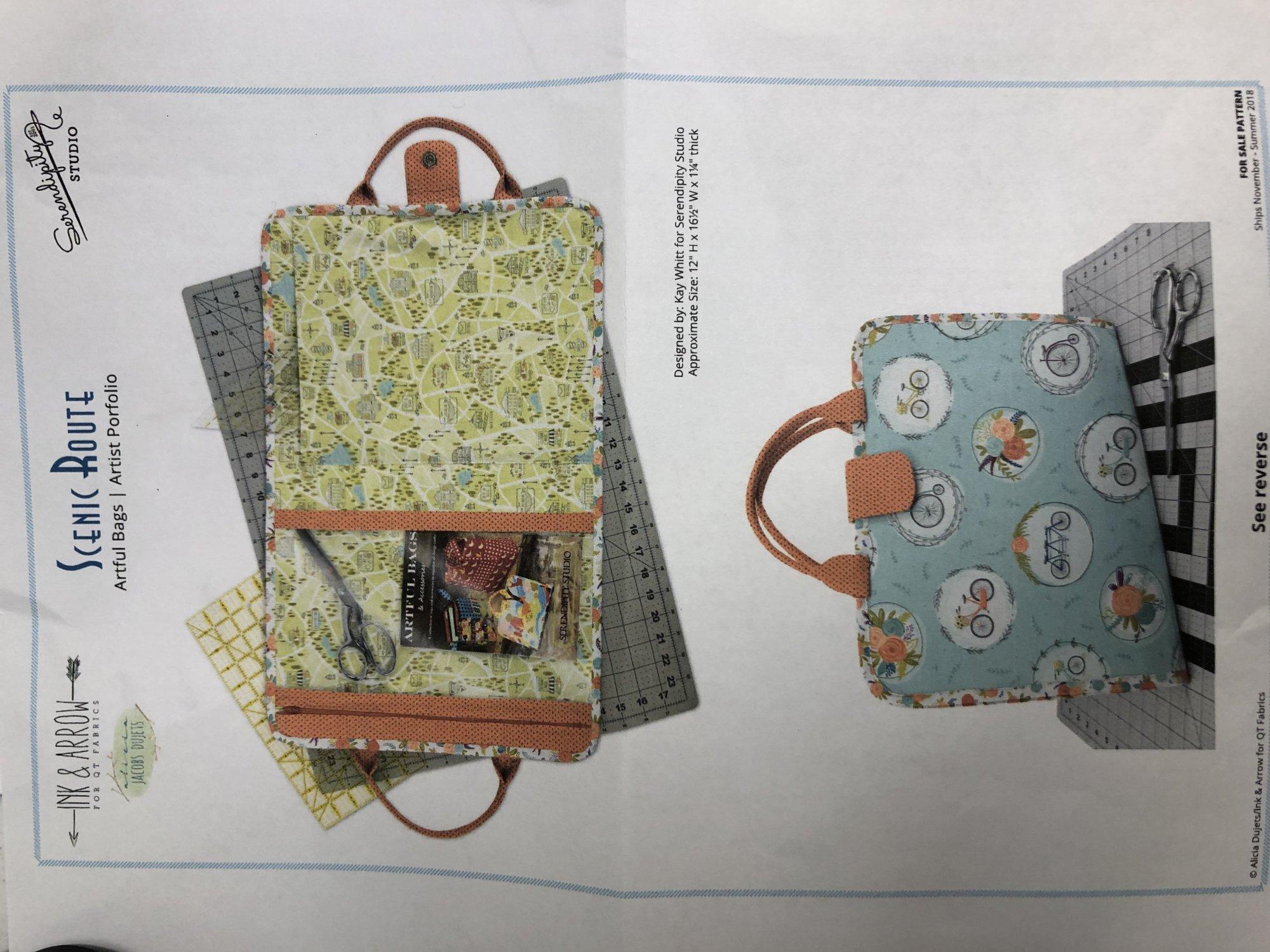Artful Bag & Accessory Kit