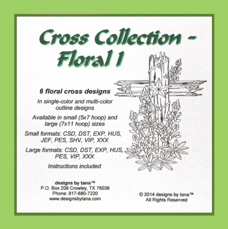 Cross Collection Floral 1