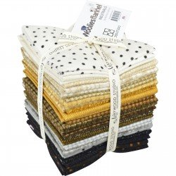 Woolies Flannel Neutral Fat Quarter Bundles