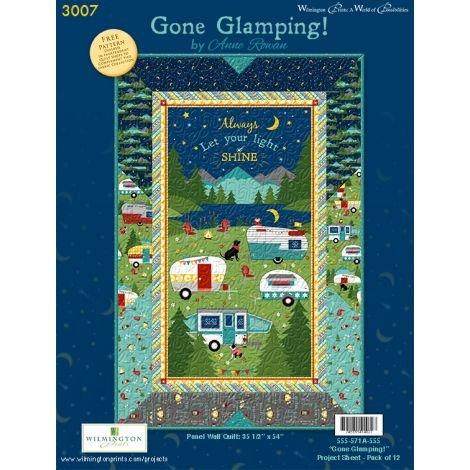 Gone Glamping Quilt Kit