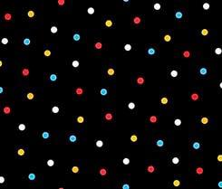 QT Good Friends Dots Black