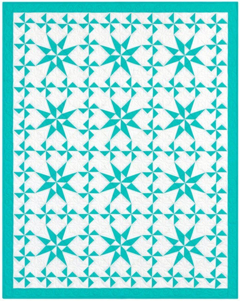Kona Pinwheel Stars Quilt Kit